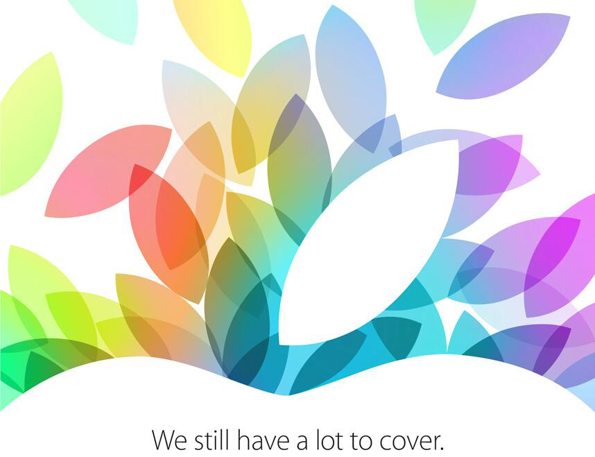 Apple iPad 5 iPad mini 2 Event