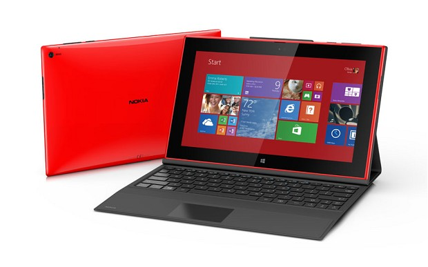 Surface 2 Lumia 2520 Comparison