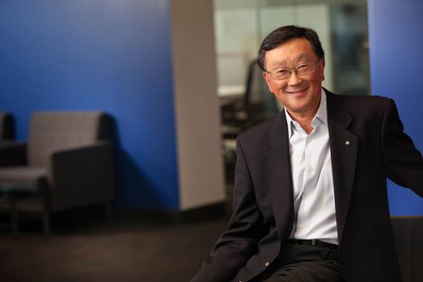 BlackBerry CEO Chen Wall Street Reaction