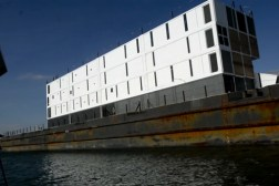 Google Barge Construction Stopped