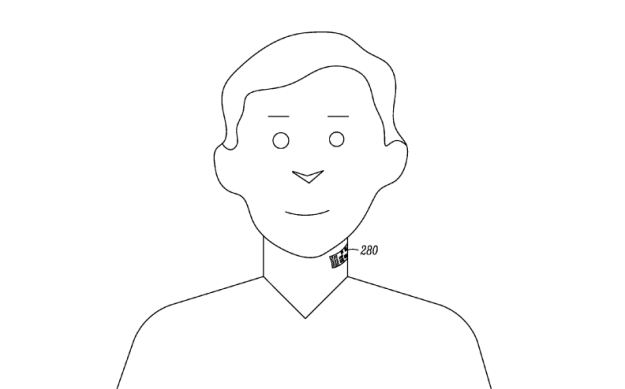 Motorola Smart Tattoo Patent