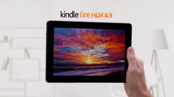 Amazon Kindle Fire HDX iPad Air Ad