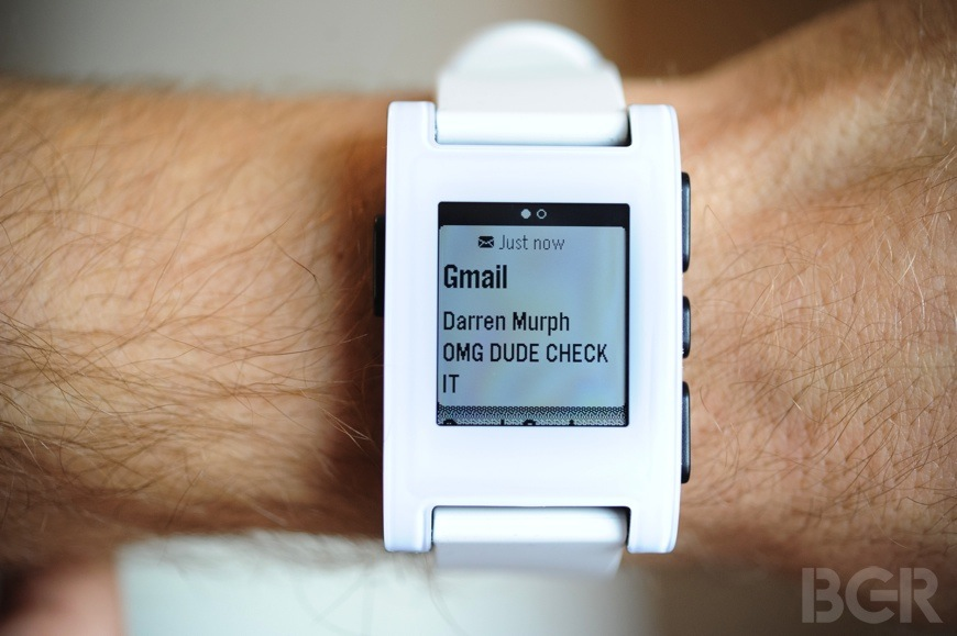 Pebble Smartwatch Review: Bringing sanity to an iPhone ...