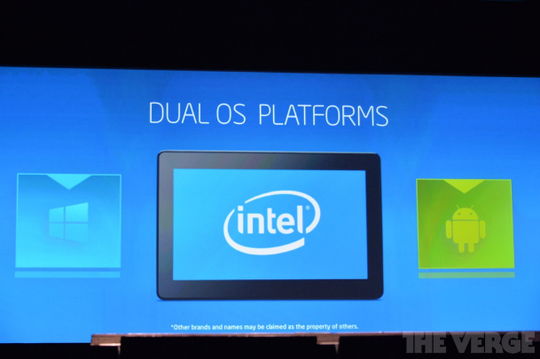 Intel Android Windows Dual OS