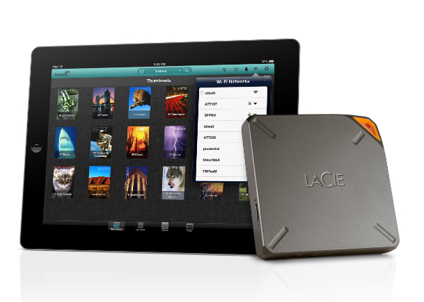1TB LaCIe Fuel iPad, iPhone, Mac hard drive