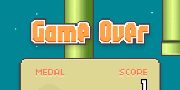 Flappy Bird High Score Game Ending Concept