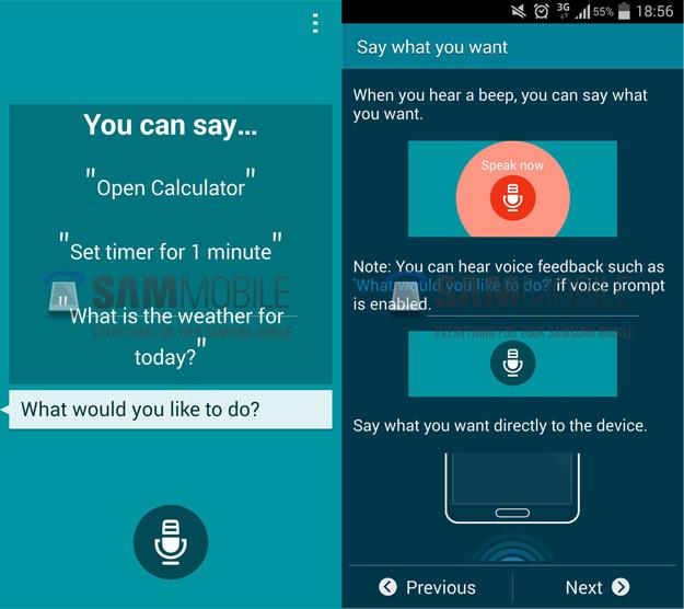 Galaxy S5 Screenshots