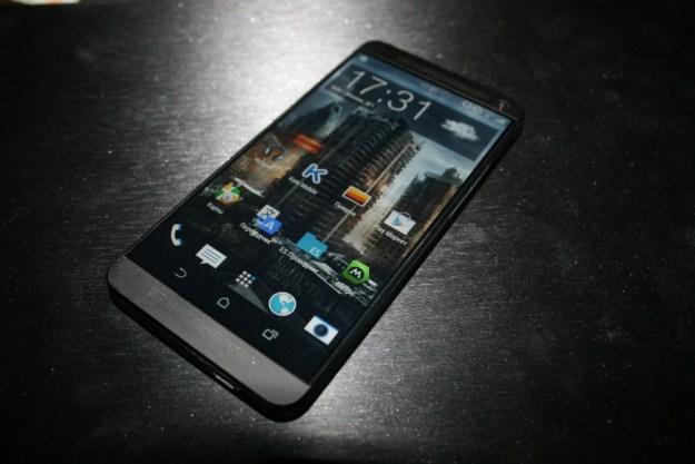 HTC M8 Photo Leak Display