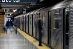 New York Subway Touchscreen Maps