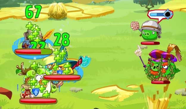 Angry Birds Epic Gameplay