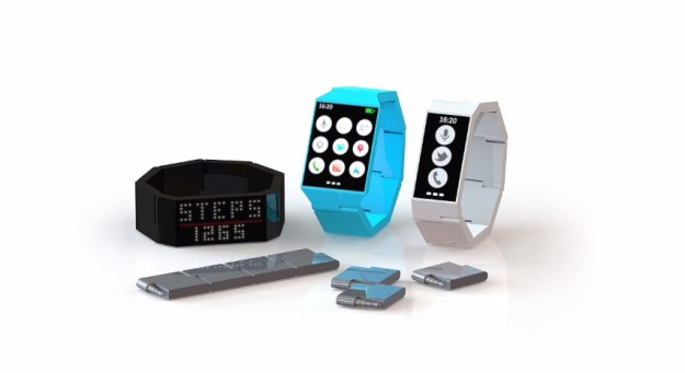 Project Ara Like Blocks Modular Smartwatch