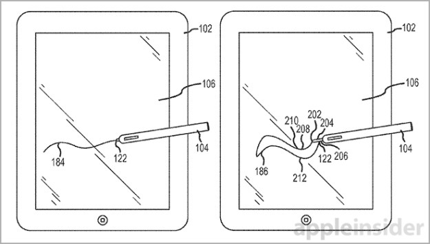 Apple iPad Stylus Patent