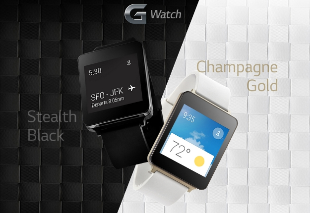 LG G Watch Preview Site