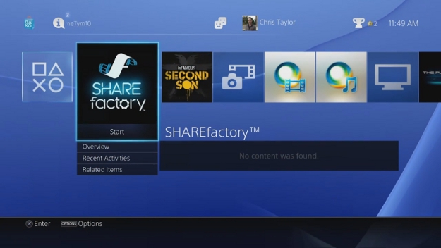 PS4 Update 1.70 Video Editor