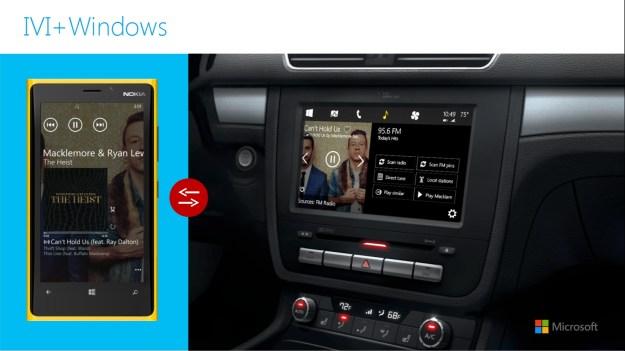 Microsoft Windows In The Car