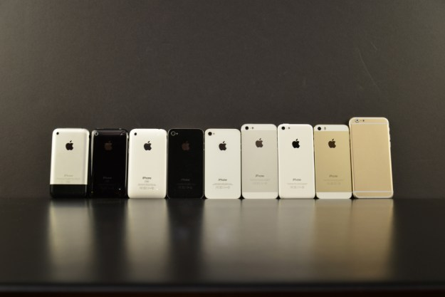iPhone 6 vs iPhone 5s vs iPhone 5c vs iPhone 4S