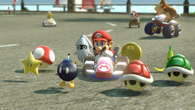 Mario Kart Oculus Rift