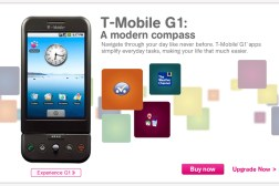 T-Mobile HTC G1 Android Smartphone
