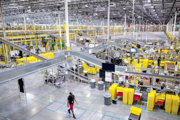 Amazon warehouse: Pictures from Phoenix fulfillment center