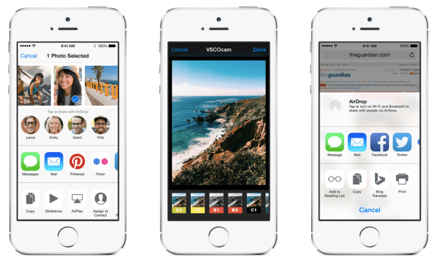 Best iOS 8 Features Extensions