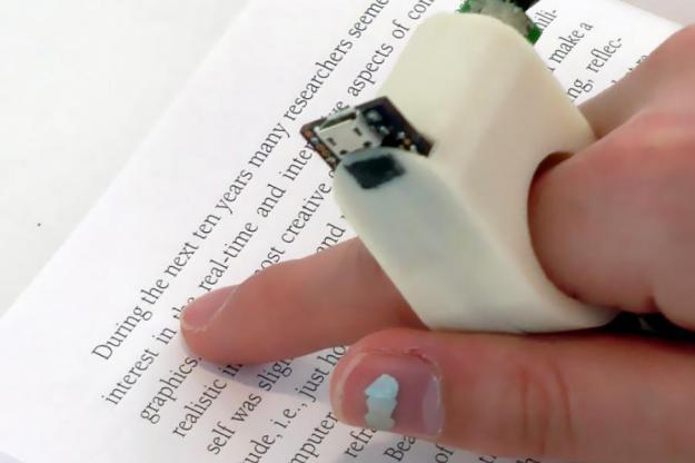 World's Best Gadgets FingerReader