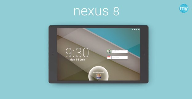 HTC Nexus 8 Design and Features