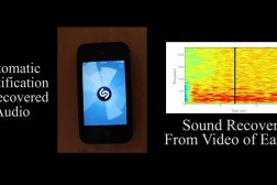 MIT Video Recording Audio Vibrations
