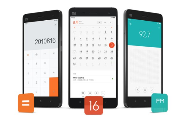 Xiaomi MIUI 6 vs Apple iOS 7