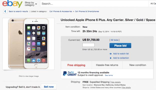 Ebay Usa Iphone 6 Plus Unlocked