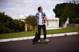 Kickstarter Movpak Electrical Skateboard Backpack