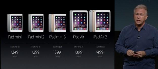 Ipad Mini Compared to Ipad 2 Ipad Air 2 vs Ipad Mini 3 vs