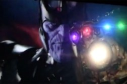 Teaser Marvel Thanos Infinity Gauntlet