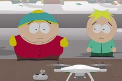 South Park Cartman Drone Video