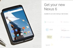 Nexus 6 and 9 Release Date, Price and Preorder