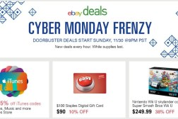 eBay Cyber Monday 2014 Sale