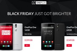 One Plus One Black Friday 2014 Deal