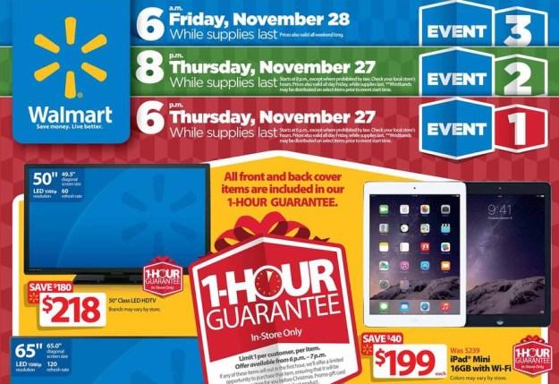 Walmart Black Friday 2014 Full Ad