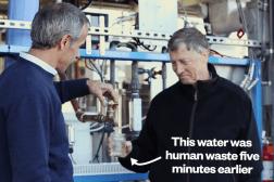 Bill Gates Water Poop Video