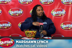 Marshawn Lynch Skittles Video