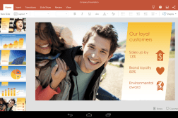 Office for Android Tablets Preview