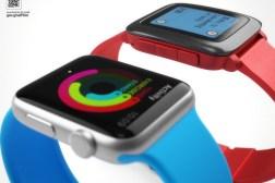 Apple Watch Vs Pebble