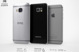 HTC One M9 vs. Galaxy S6 vs. iPhone 6