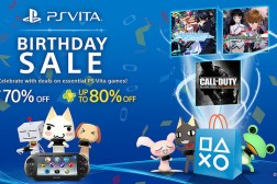 PS Vita Birthday Sale