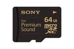 Sony Premium Sound Memory Card