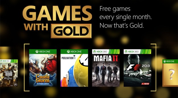 free games on xbox live gold january