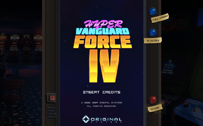 Hyper Vanguard Force Browser Game