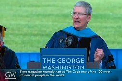 Tim Cook Graduation Speech