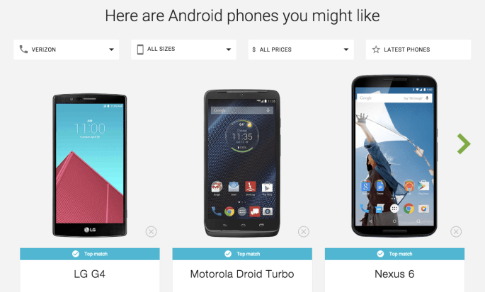 Find Your Next Android Phone