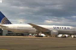 United Airlines Emergency Landing Ireland