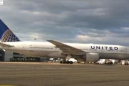 United Airlines Emergency Landing Ireland